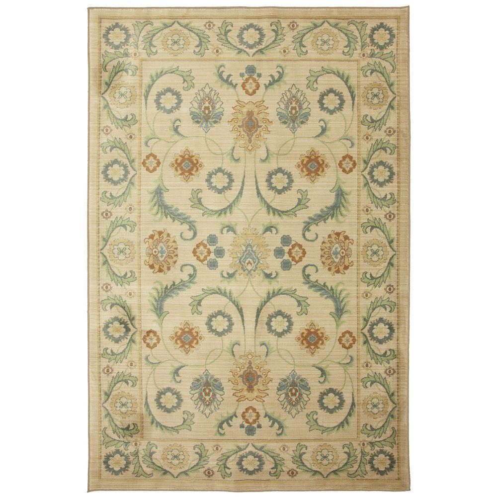 Mohawk Home Dennell Butter Pecan 5 ft. x 8 ft. Area Rug