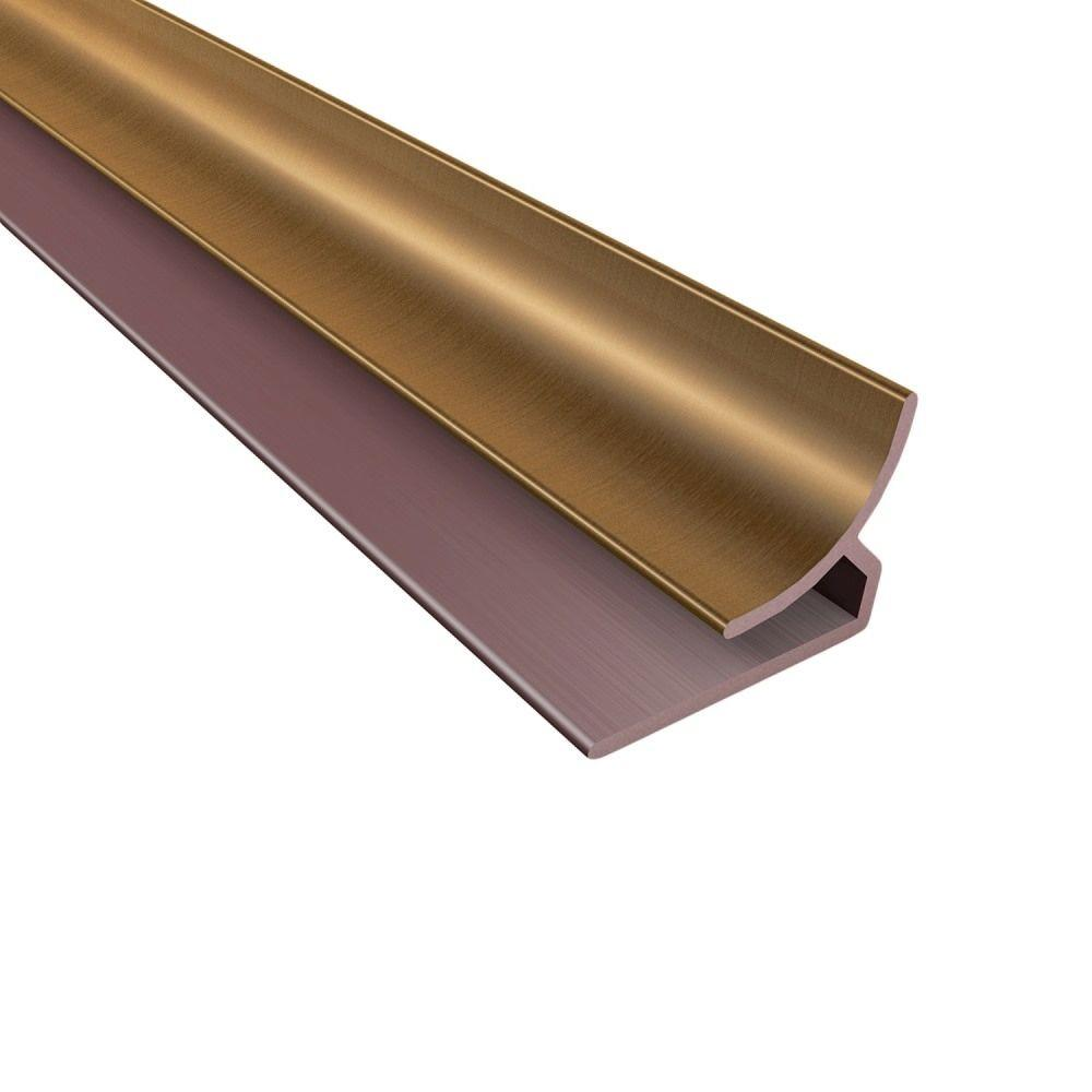 Fasade 4 ft. Oil Rubbed Bronze Inside Corner Trim-162-26 - The