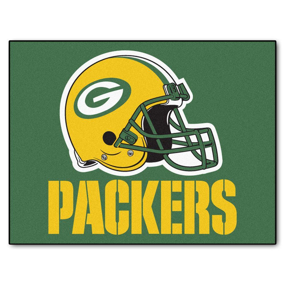 FANMATS Green Bay Packers 2 ft. 10 in. x 3 ft.