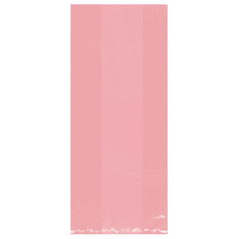 11.5 in. x 5 in. Pink Cellophane Party Bags (25-Count, 9-Pack)