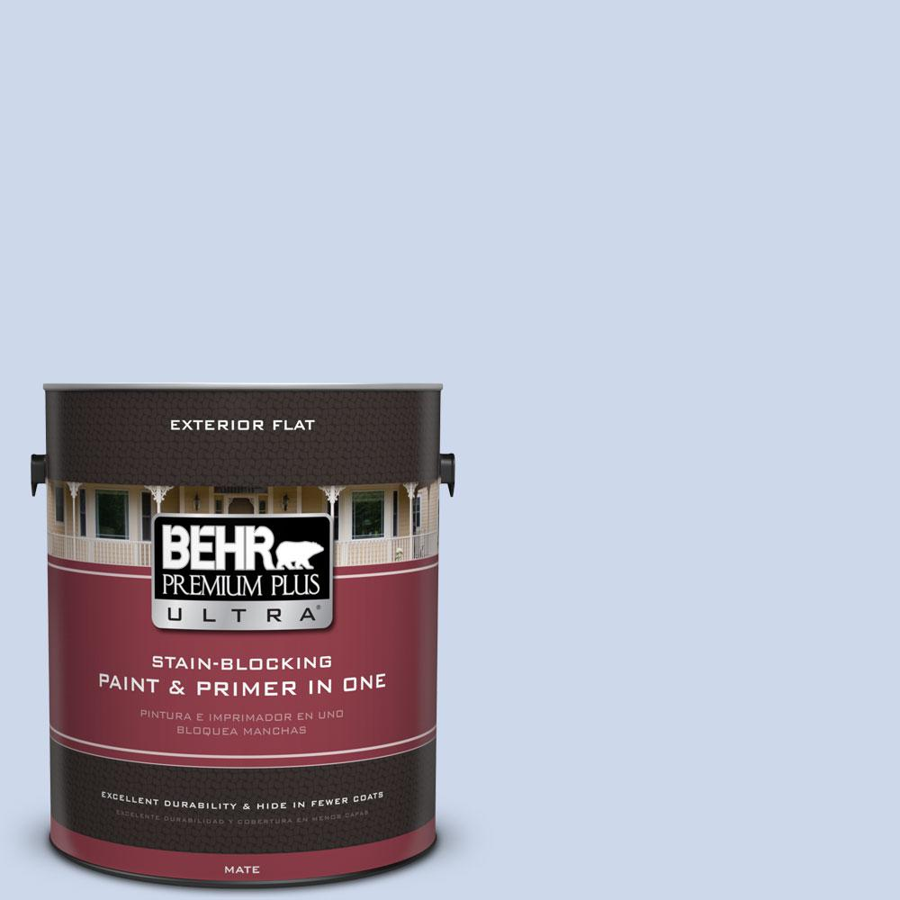 1-gal. #M540-2 Angelic Blue Flat Exterior Paint