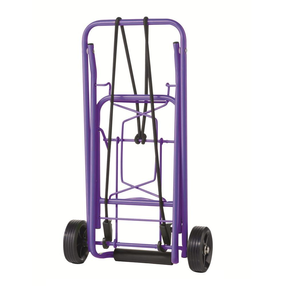 Travel Smart CTS Folding Purple Luggage Cart-TS36PUR - The Home Depot