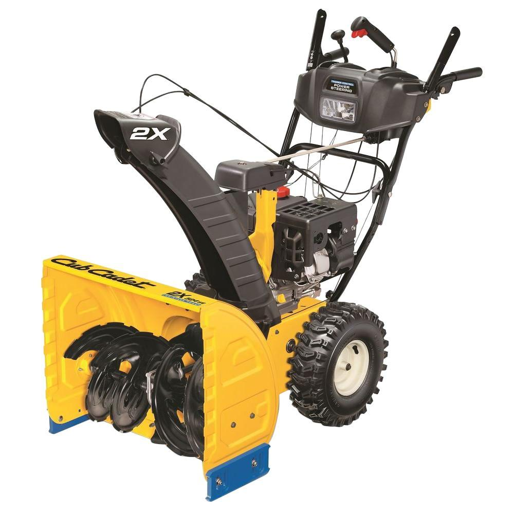 Cub Cadet 24 in. Two-Stage Electric Start Gas Snow Blower with Headlight-DISCONTINUED