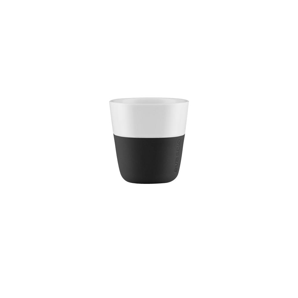 3 oz. Porcelain Espresso Tumbler with Silicone Sheath in Carbon Black,