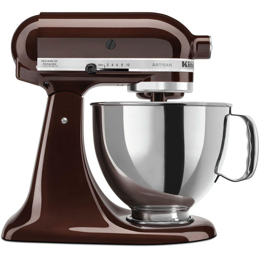Artisan Series 5 Qt. Stand Mixer in Espresso