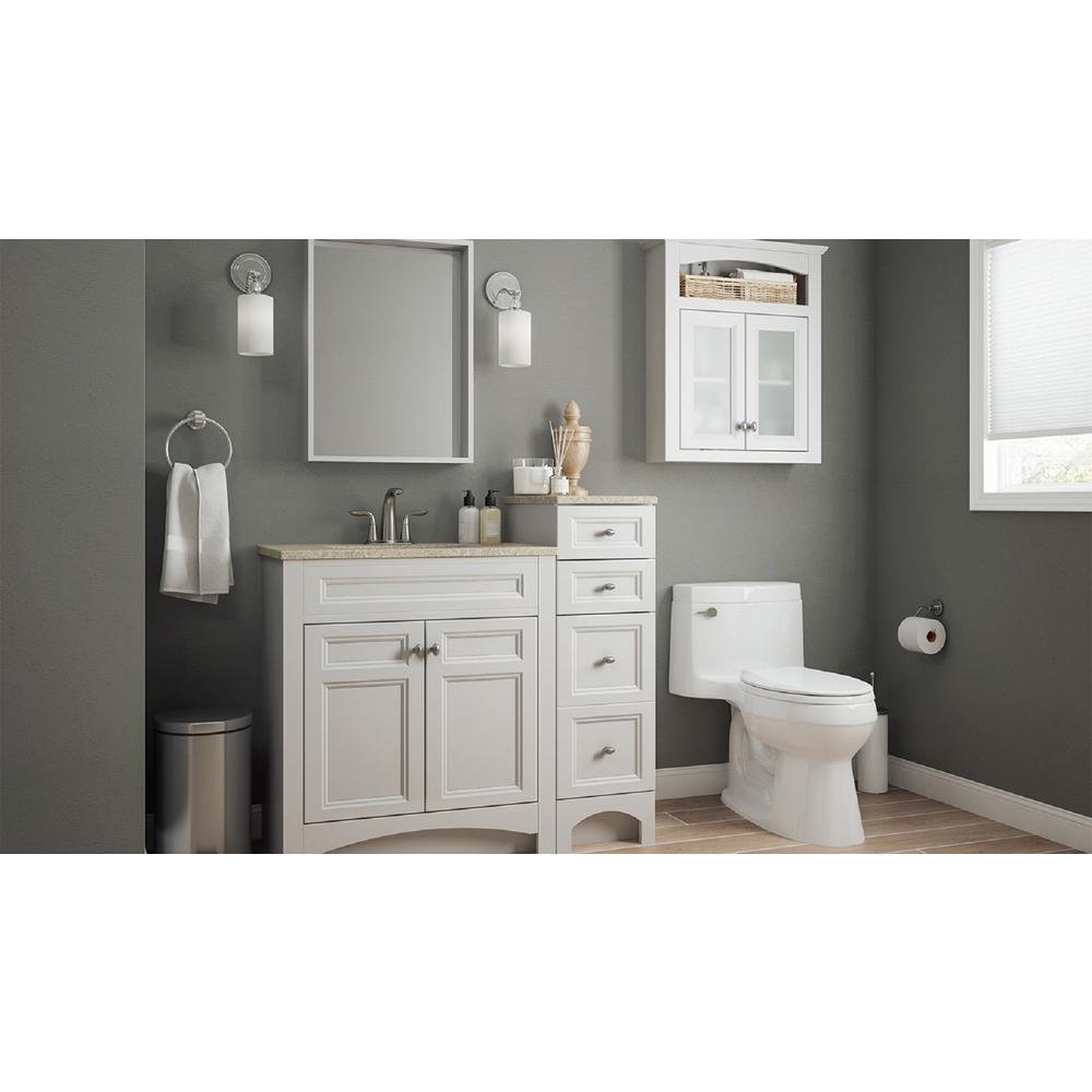 modular bathroom vanity collection in white bath the home depot rh homedepot com Modern Bathroom Vanities modular bathroom vanity cabinets