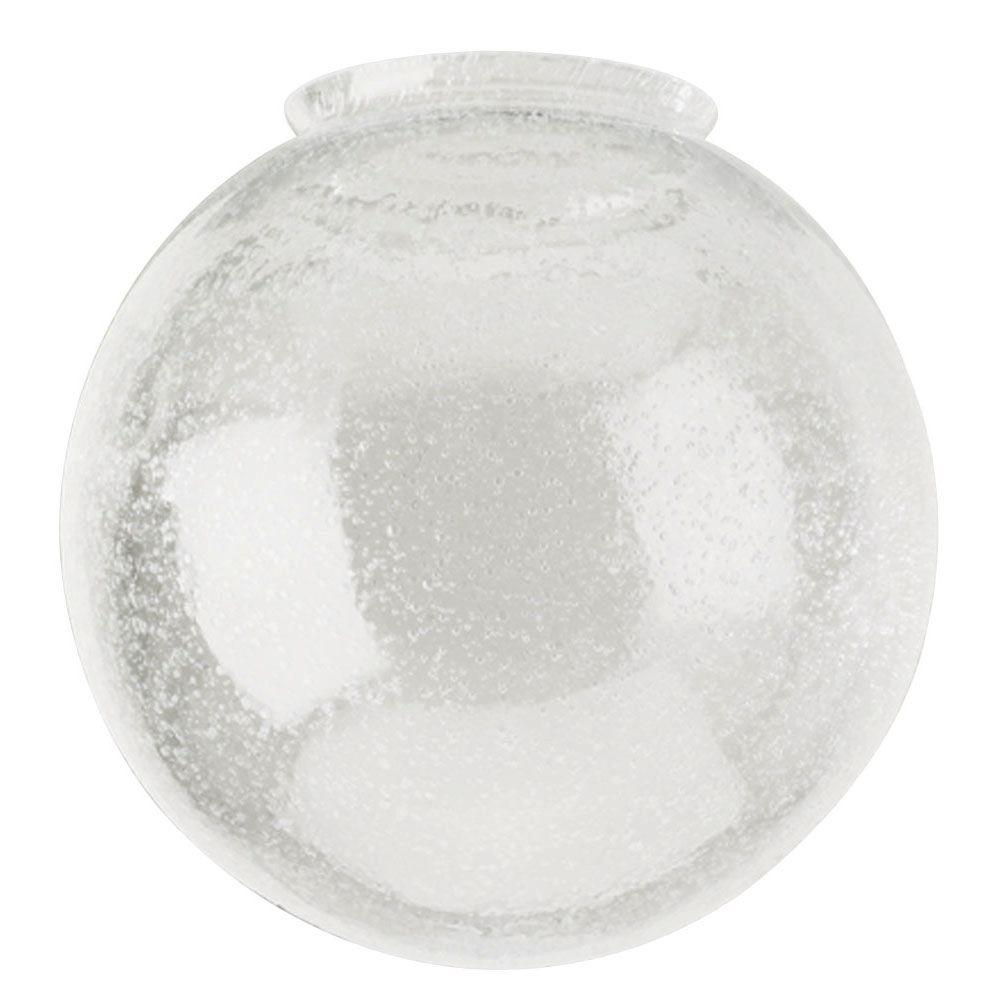 Westinghouse 6 in. Handblown Clear Seeded Globe with 3-1/4 in. Fitter