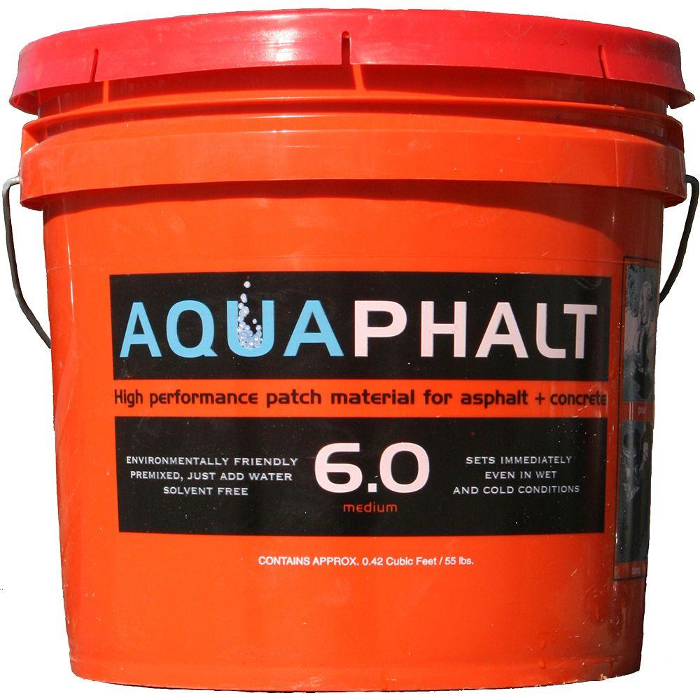 3.5 Gal. Permanent Asphalt Repair Patch Black
