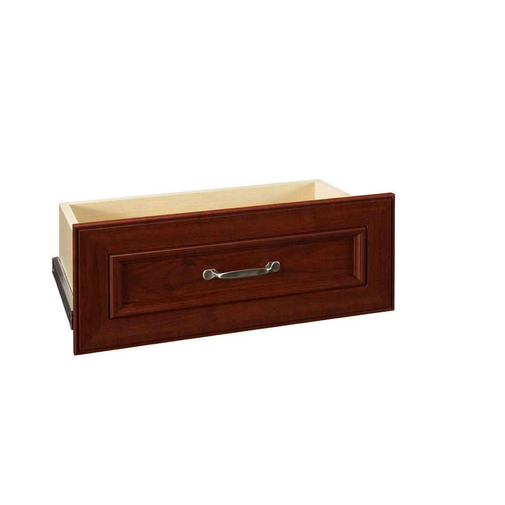 ClosetMaid Impressions 25 in. Dark Cherry Wide Drawer Kit
