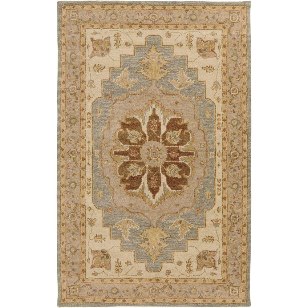 Middleton Mia Chocolate 5 ft. x 8 ft. Indoor Area Rug