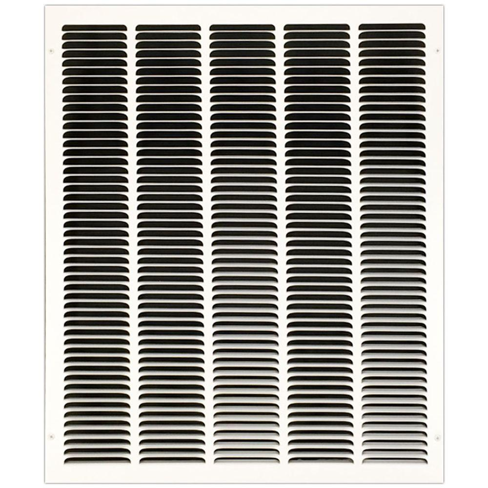 20 in. x 25 in. Return Air Vent Grille with Fixed