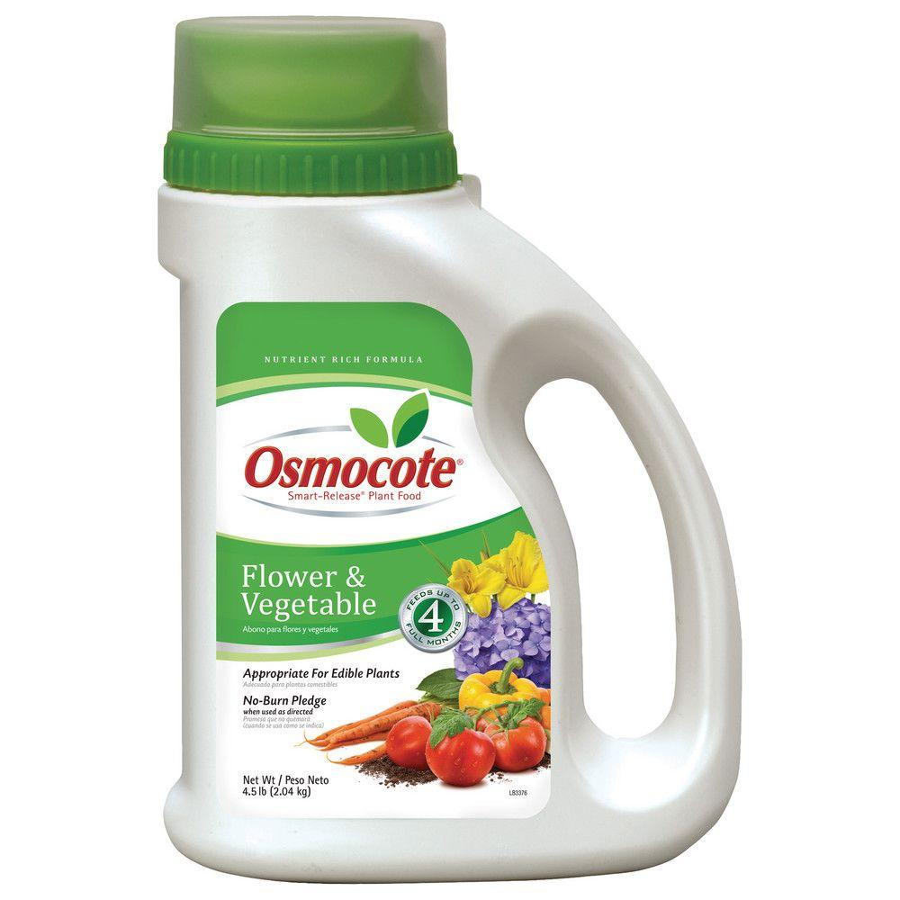 Osmocote Smart-Release 4.5 lb. Flower and Vegetable Plant Food-277860 - The
