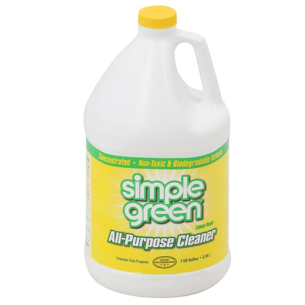 Simple Green 128 oz. Lemon Scent All-Purpose Cleaner-3010100614010 - The Home
