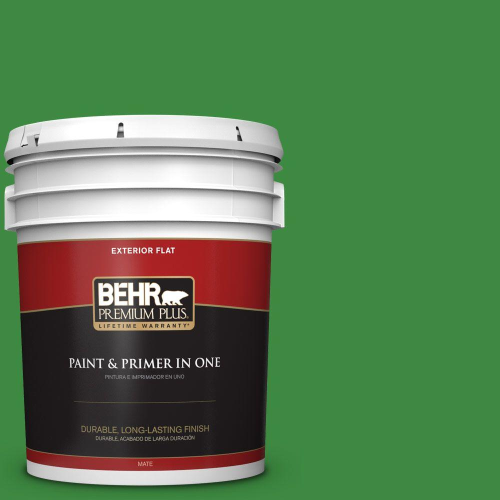 BEHR Premium Plus 5-gal. #T12-9 Level Up Flat Exterior Paint