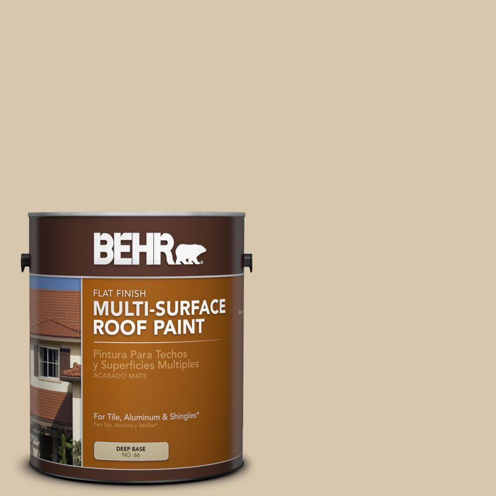 BEHR 1-gal. #RP-15 Summer Sage Flat Multi-Surface Roof Paint-06501 - The
