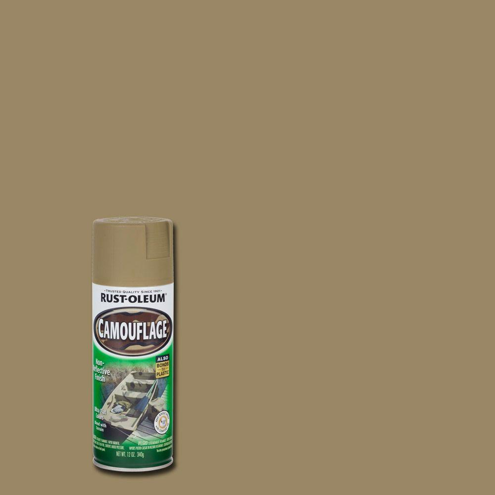Rust-Oleum Specialty 12 oz. Khaki Camouflage Spray Paint-1917830 - The Home