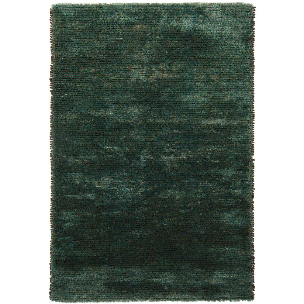 Chandra Royal Blue/Green 5 ft. x 7 ft. 6 in. Indoor Area Rug