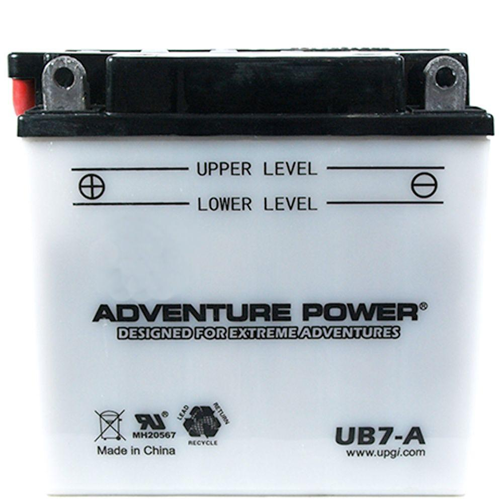 UPG Conventional Wet Pack 12-Volt 8 Ah Capacity F Terminal