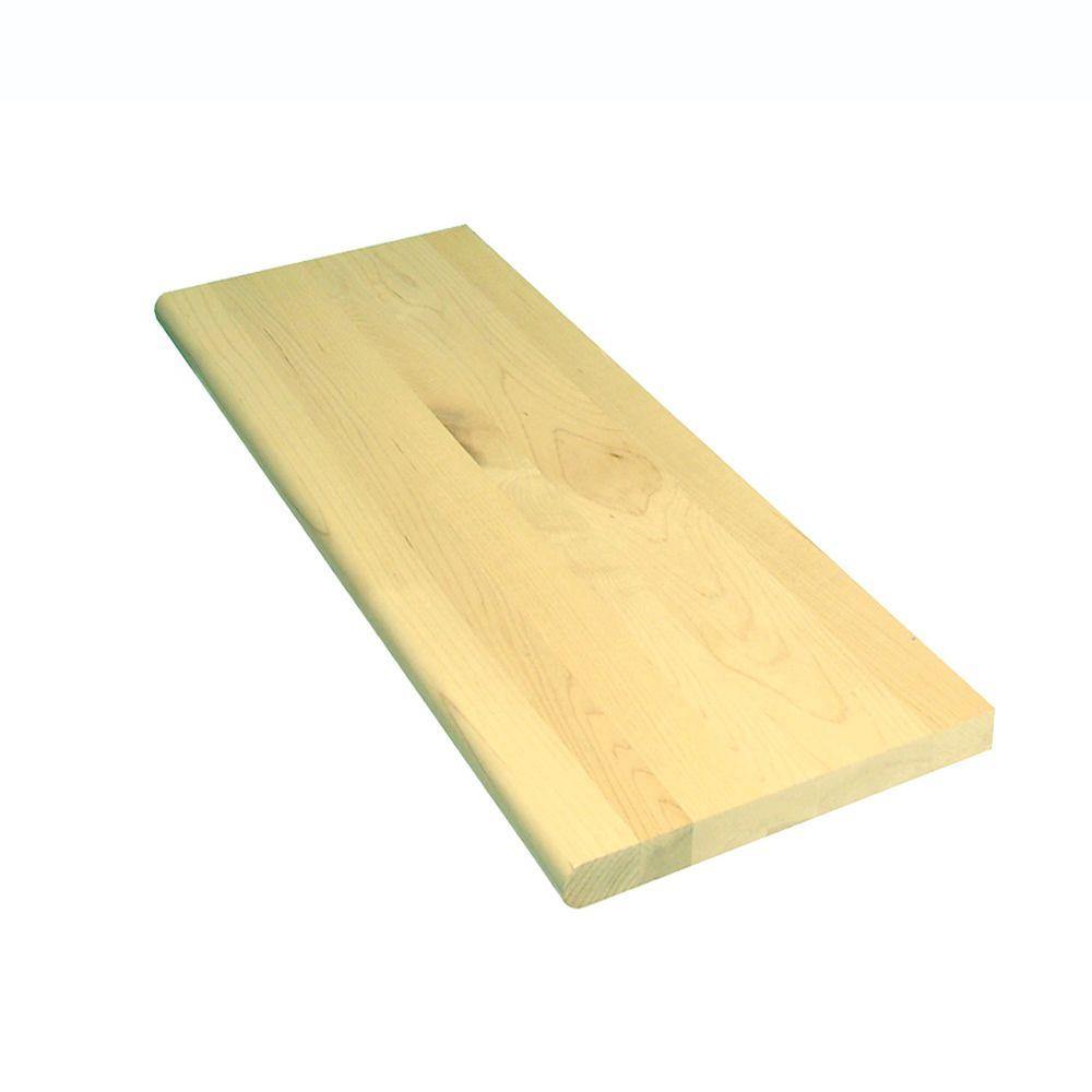 1 in x 11.5 in. x 36 in. Prefinished Natural Maple