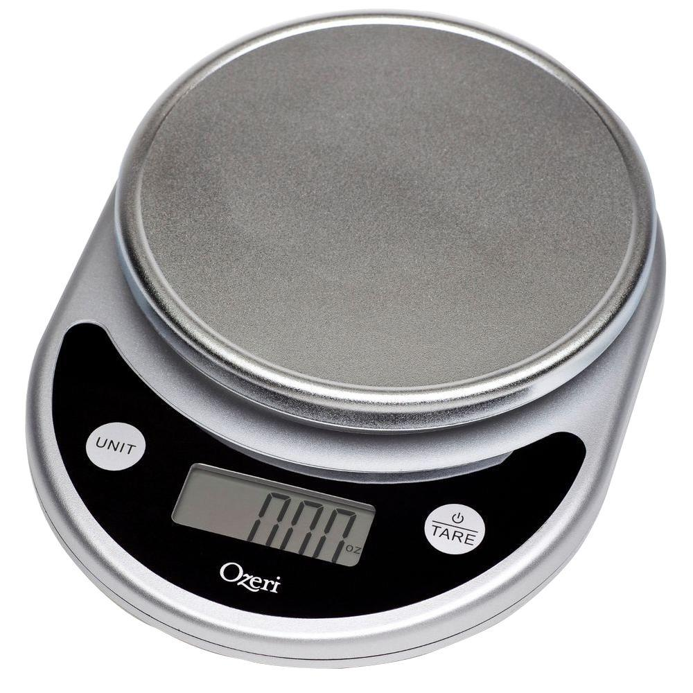 Pronto Digital Multifunction Kitchen and Food Scale in Elegant Black