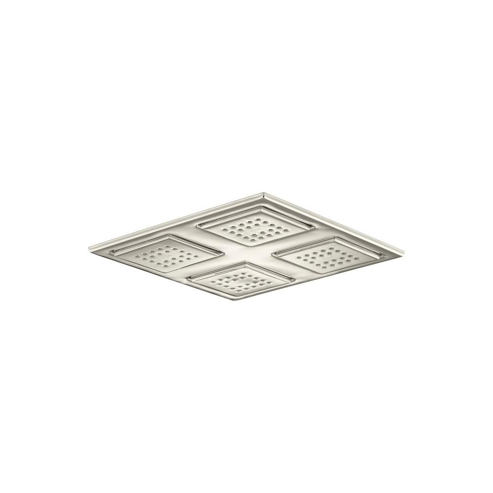 KOHLER WaterTile 22-Nozzle Rain Overhead Showering Panel in Vibrant Polished Nickel-DISCONTINUED