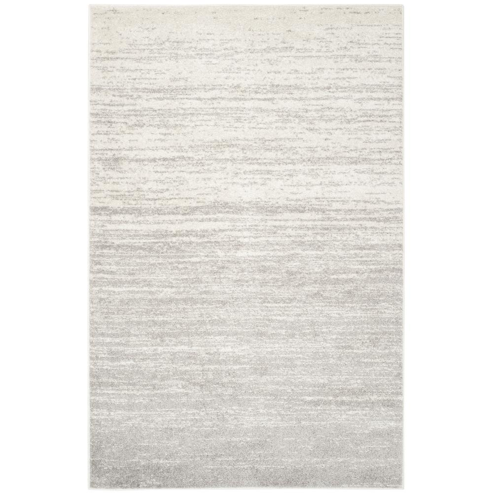 Safavieh Adirondack Ivory Silver 6 Ft X 9 Ft Area Rug