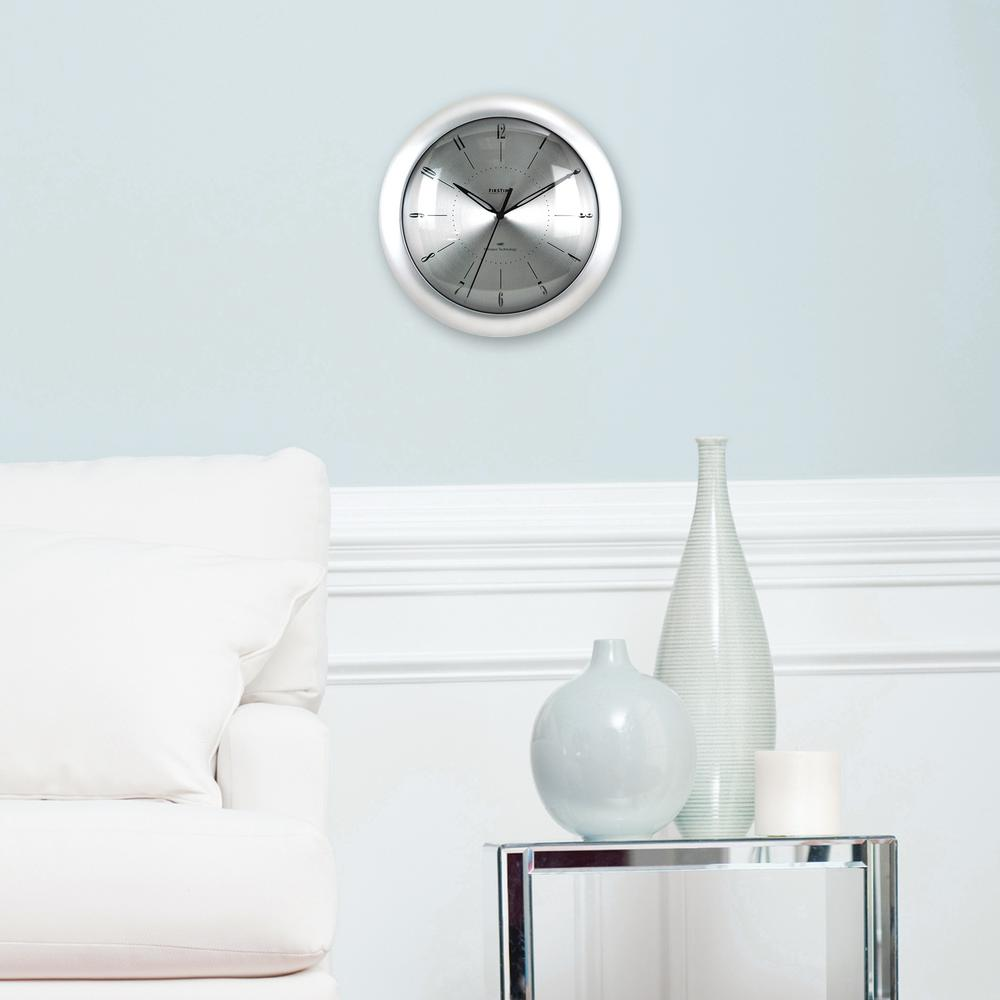 11in. Round Plasma Steel Wall Clock