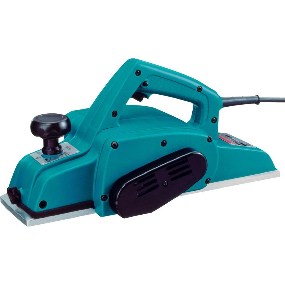 Makita 7 5 amp 4 3 8 in corded planer 1912b the home depot for Planer com