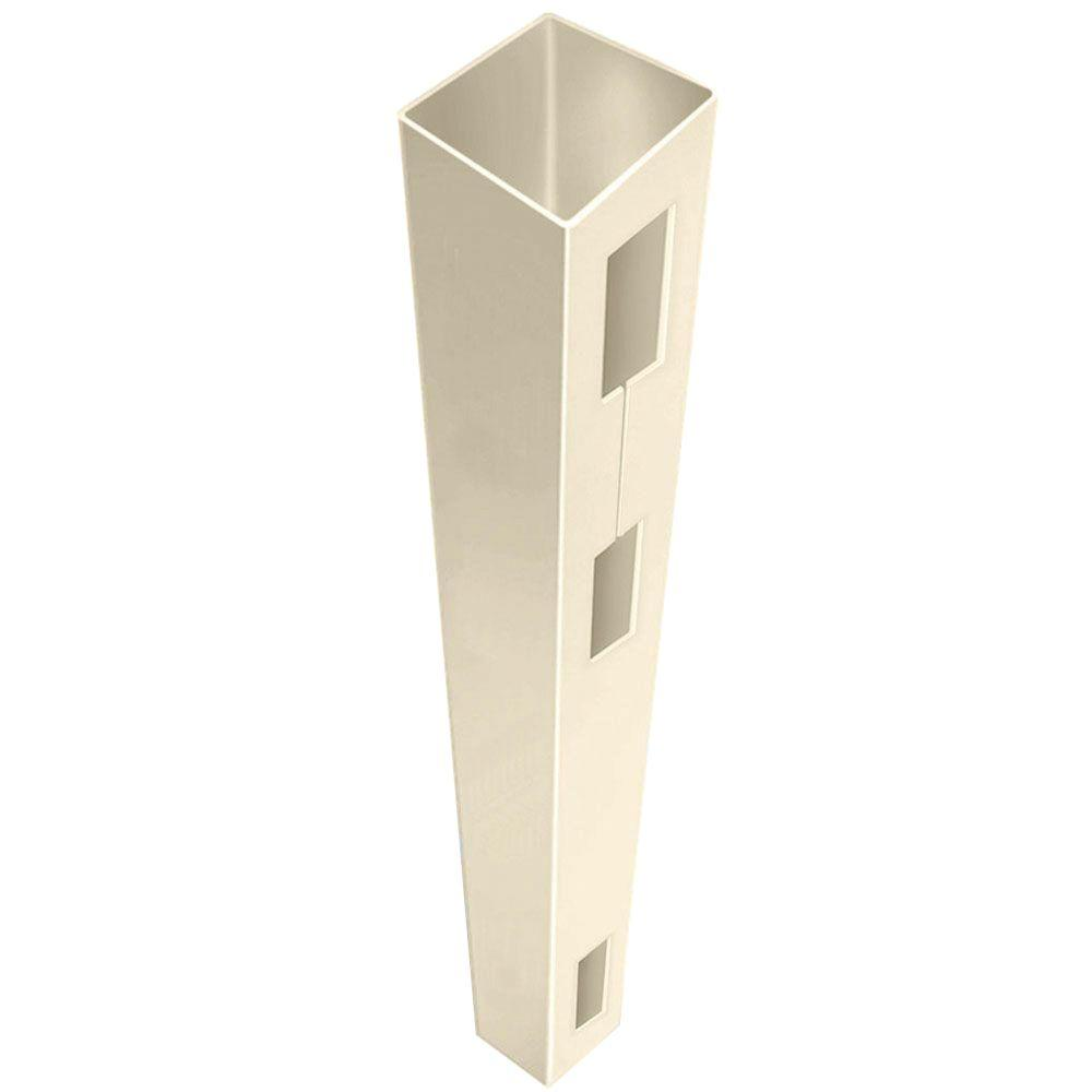 5 in. x 5 in. x 9 ft. Sand (Brown) Vinyl Fence End Post Sale $38.78 SKU: 204986356 ID: 73014138 UPC: 40933141388 :