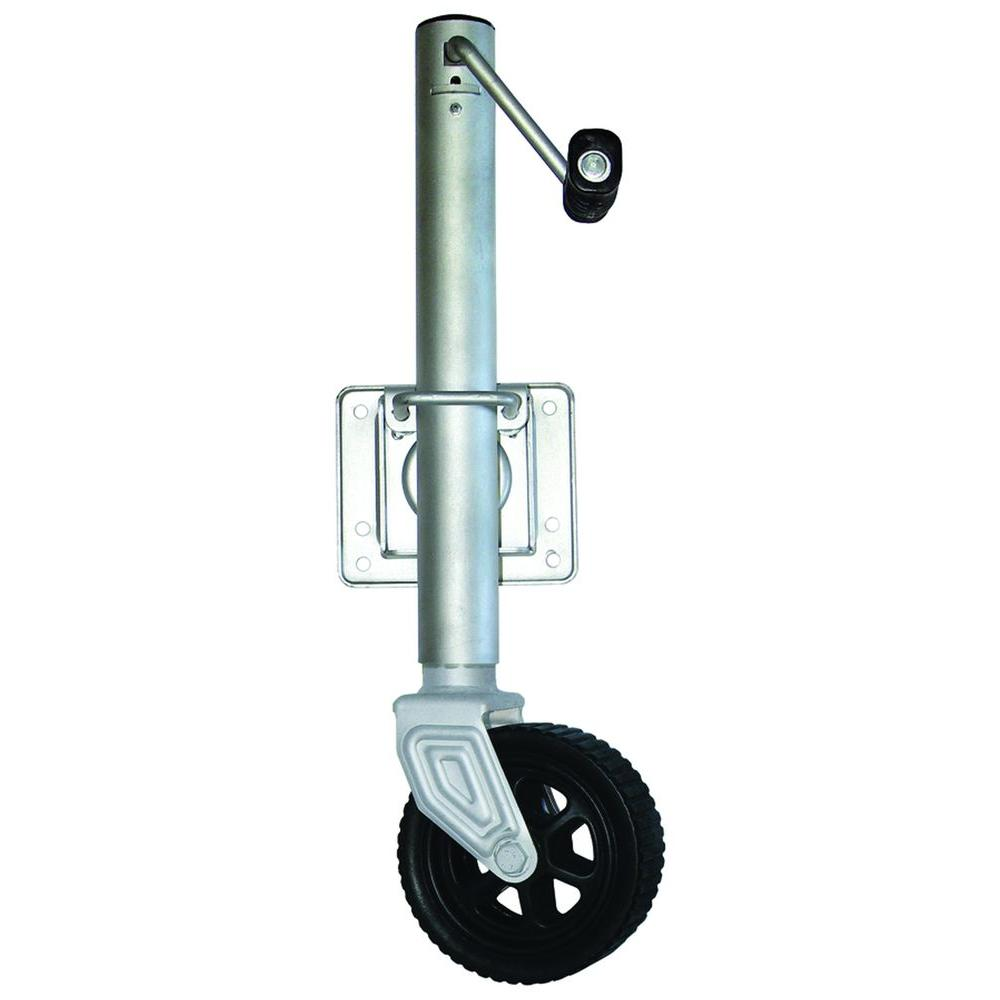 null 1000 lb. Swing Away Trailer Jack with 6 in. Wheel