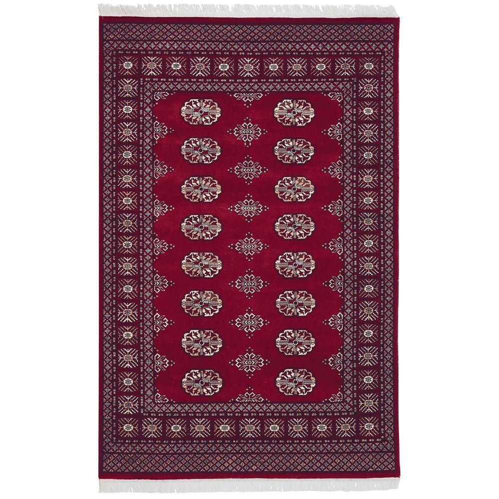 Home Decorators Collection Bokhara Red 10 ft. x 14 ft. Area Rug