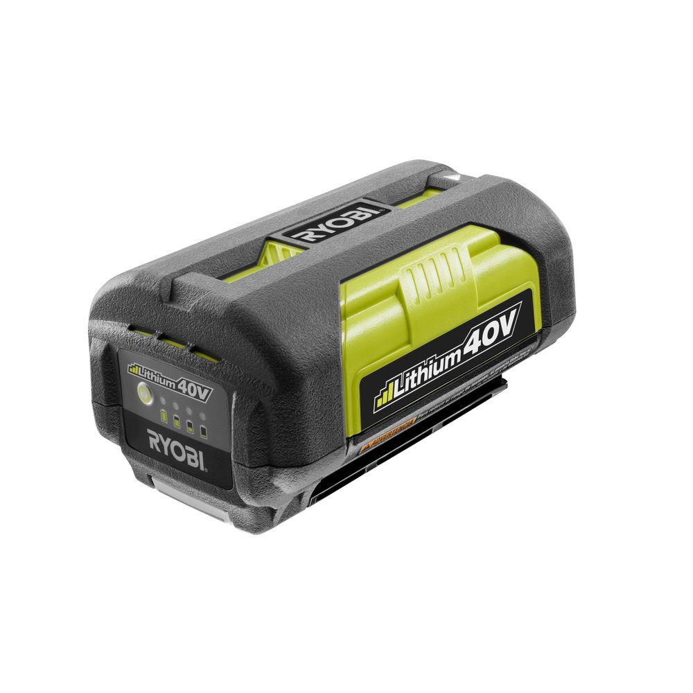 Ryobi Cordless Power Tool Batteries 40-Volt Lithium-Ion Battery OP4026A