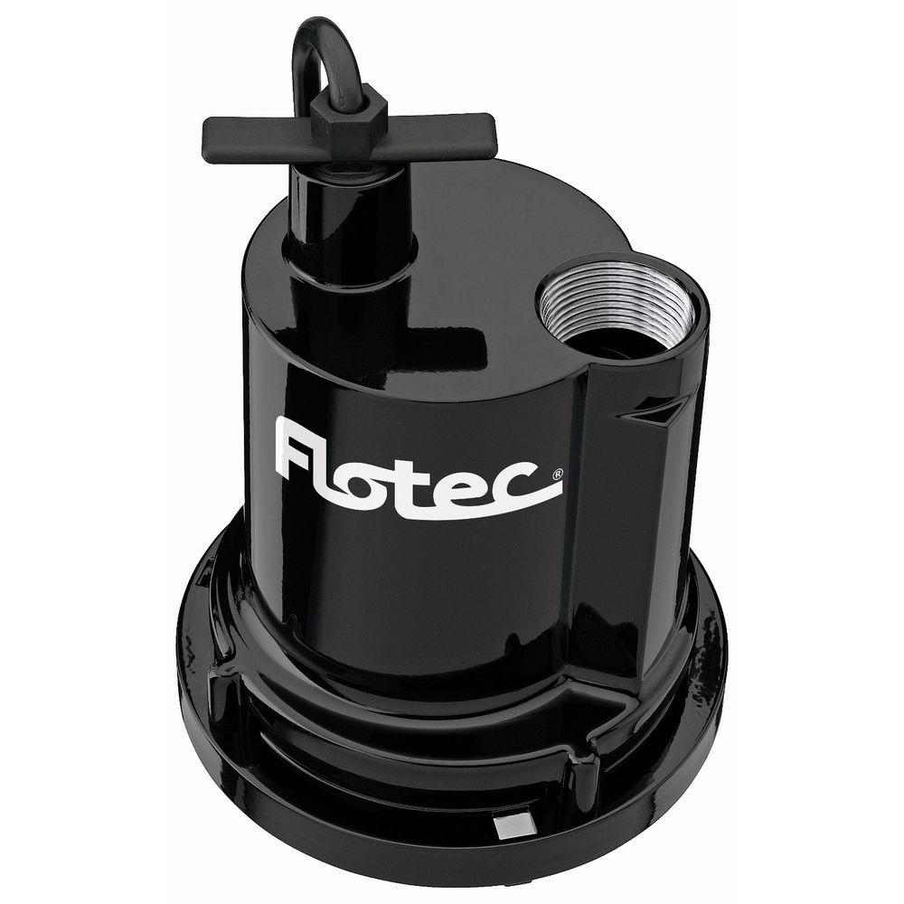 Flotec 1/4 HP Submersible Portable Utility Pump