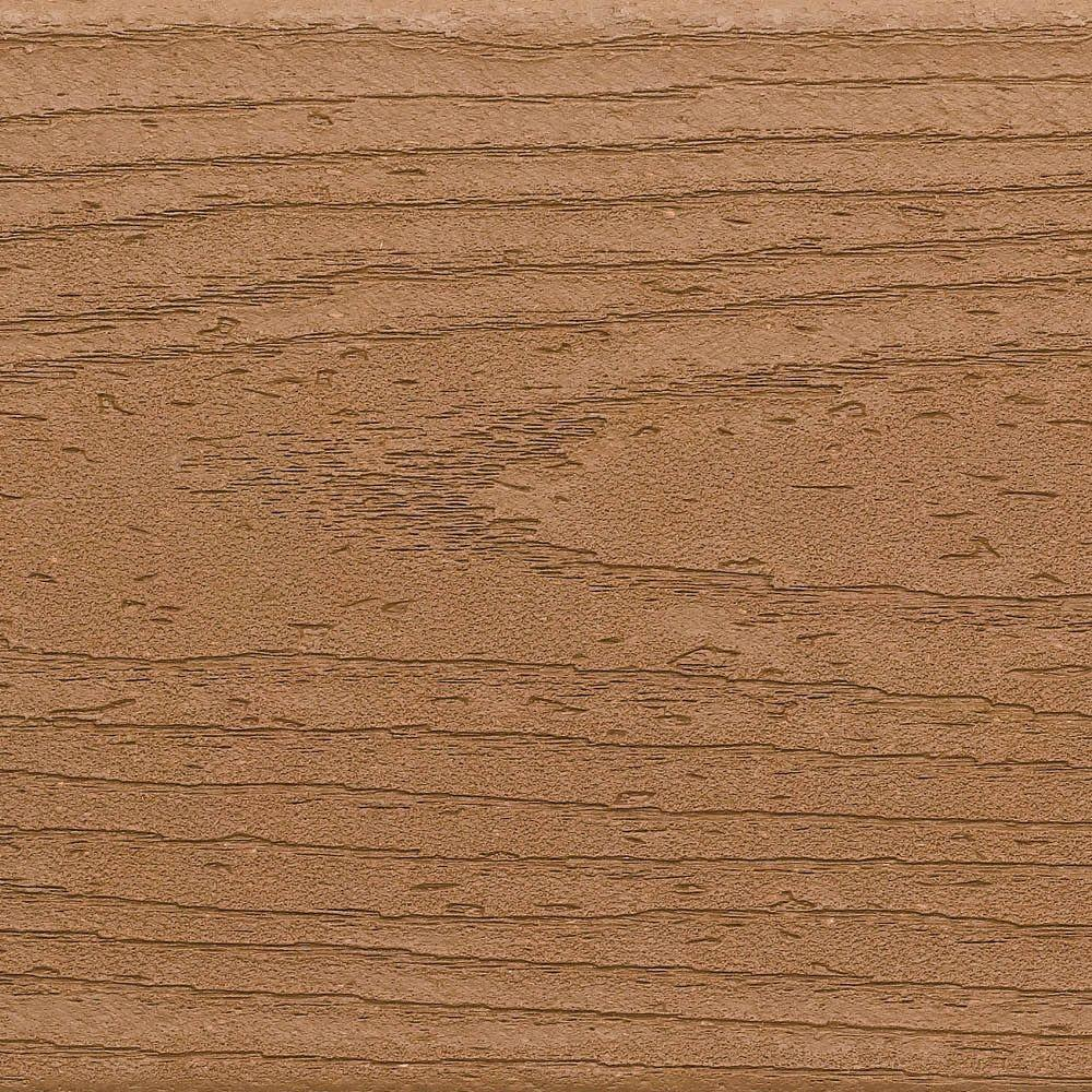 Trex Enhance 1 in. x 6 in. x 12 ft. Beach Dune Square Edge Capped Composite Decking Board