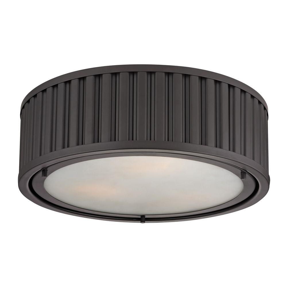 Titan Lighting Munsey Park Collection 3-Light Oil-Rubbed Bronze