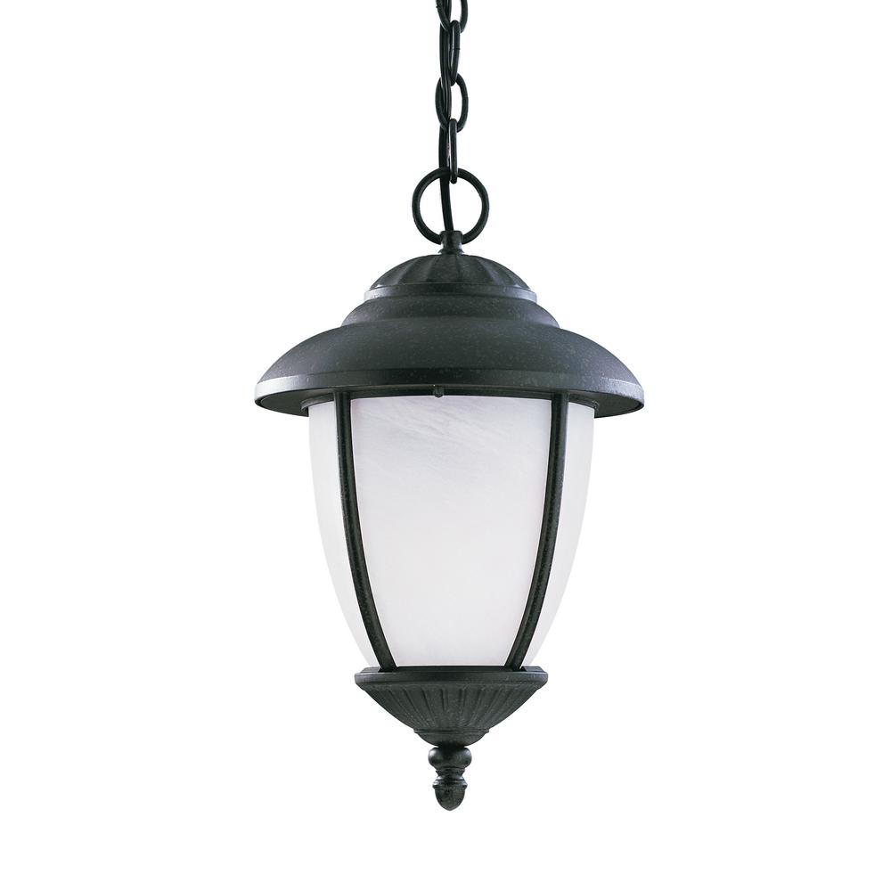 Yorktown Forged Iron 1-Light Outdoor Hanging Pendant