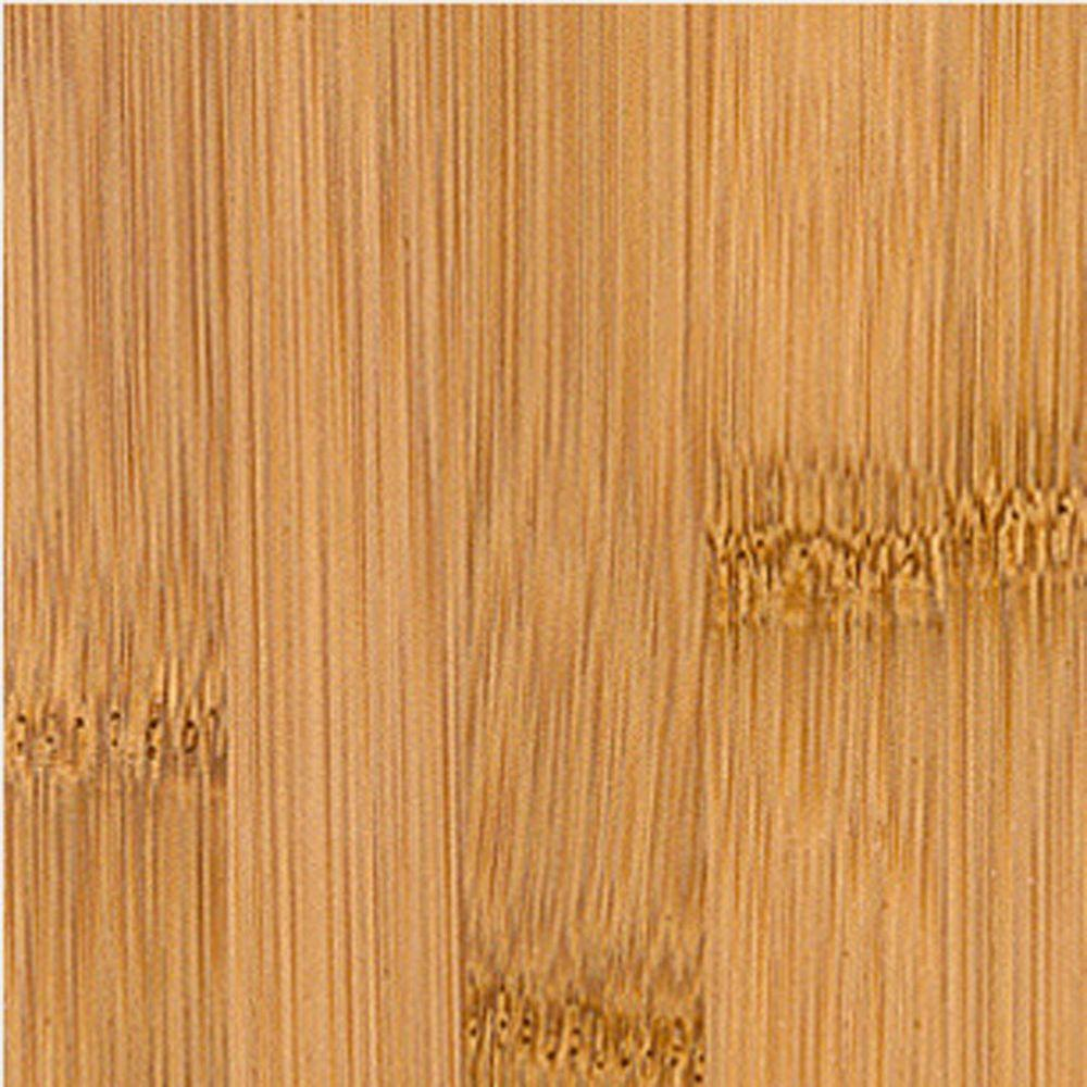 Home Legend Hand Scraped Bamboo Toast Engineered Click Lock Hardwood Flooring - 5 in. x 7 in. Take Home Sample-DISCONTINUED