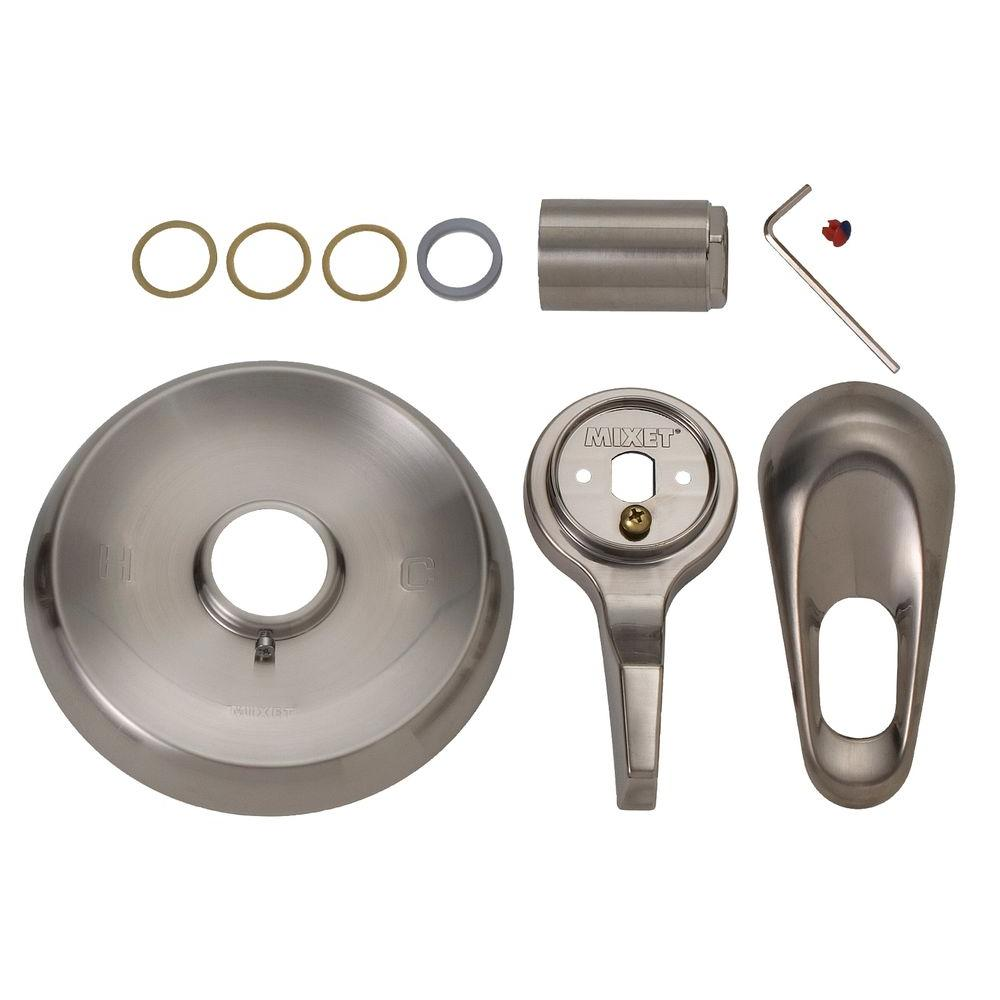 Rebuild Trim Kit in Satin Nickel for Single Lever Tub/Shower Faucets