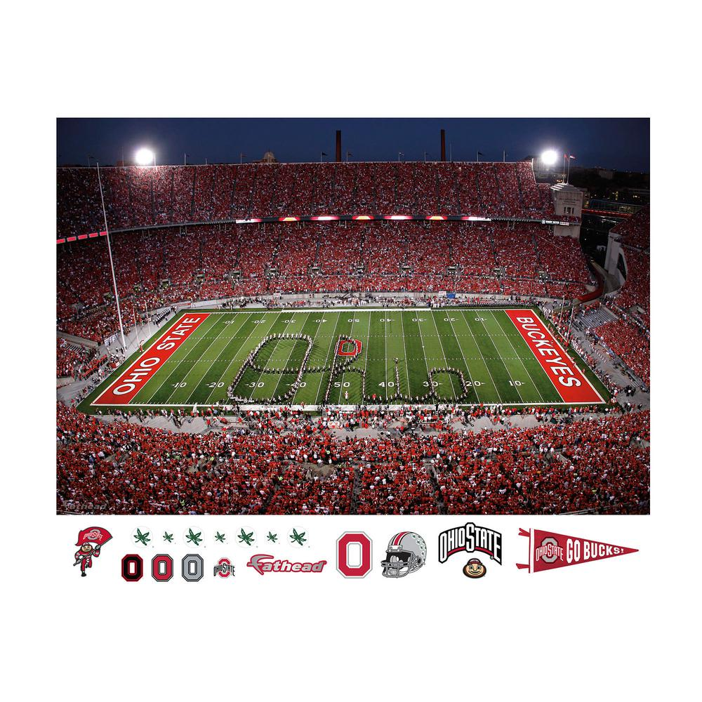 48 in. H x 72 in. W Ohio State - Marching
