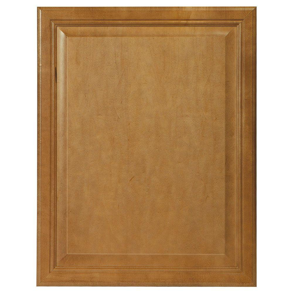 22x27.375x0.625 in. Cambria Decorative End Panel in Harvest