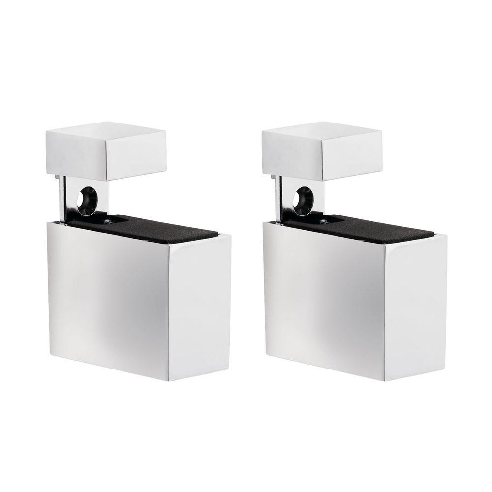 Dolle Cuadro 3/16 in. - 3/4 in. Adjustable Shelf Support in Chrome