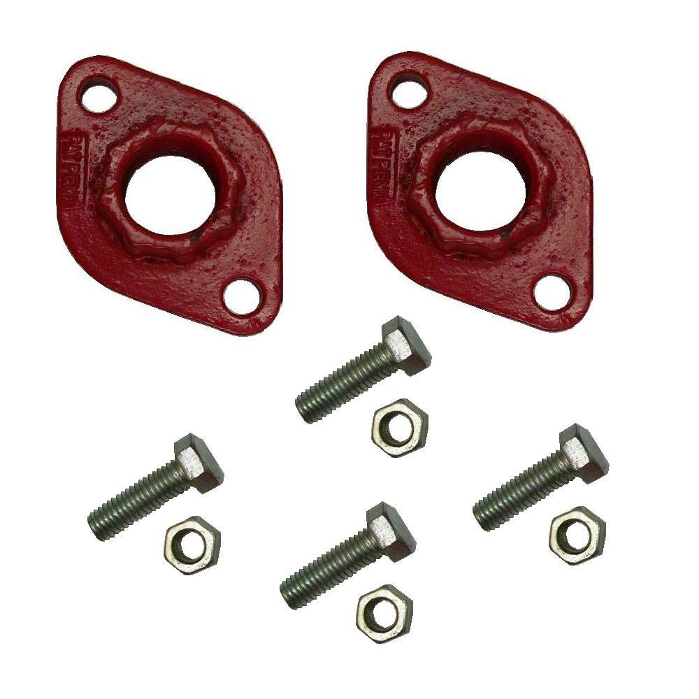 Bell & Gossett 1 in. Circulator Flanges-SPEED-DIFLNG-1-R - The Home Depot