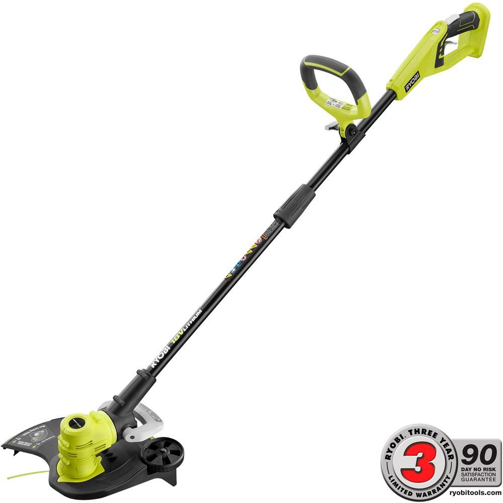 ONE+ 18-Volt Lithium-Ion Cordless String Trimmer/Edger - Battery and Charger Not