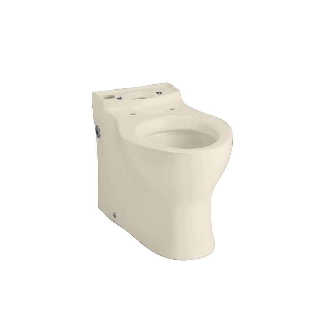 KOHLER Persuade Elongated Toilet Bowl Only in Almond-K-4322-47 - The Home