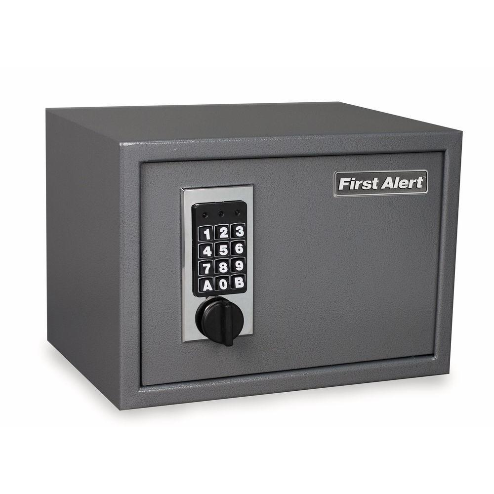 First Alert 0.62 cu. ft. Capacity Solid Steel Construction Safe