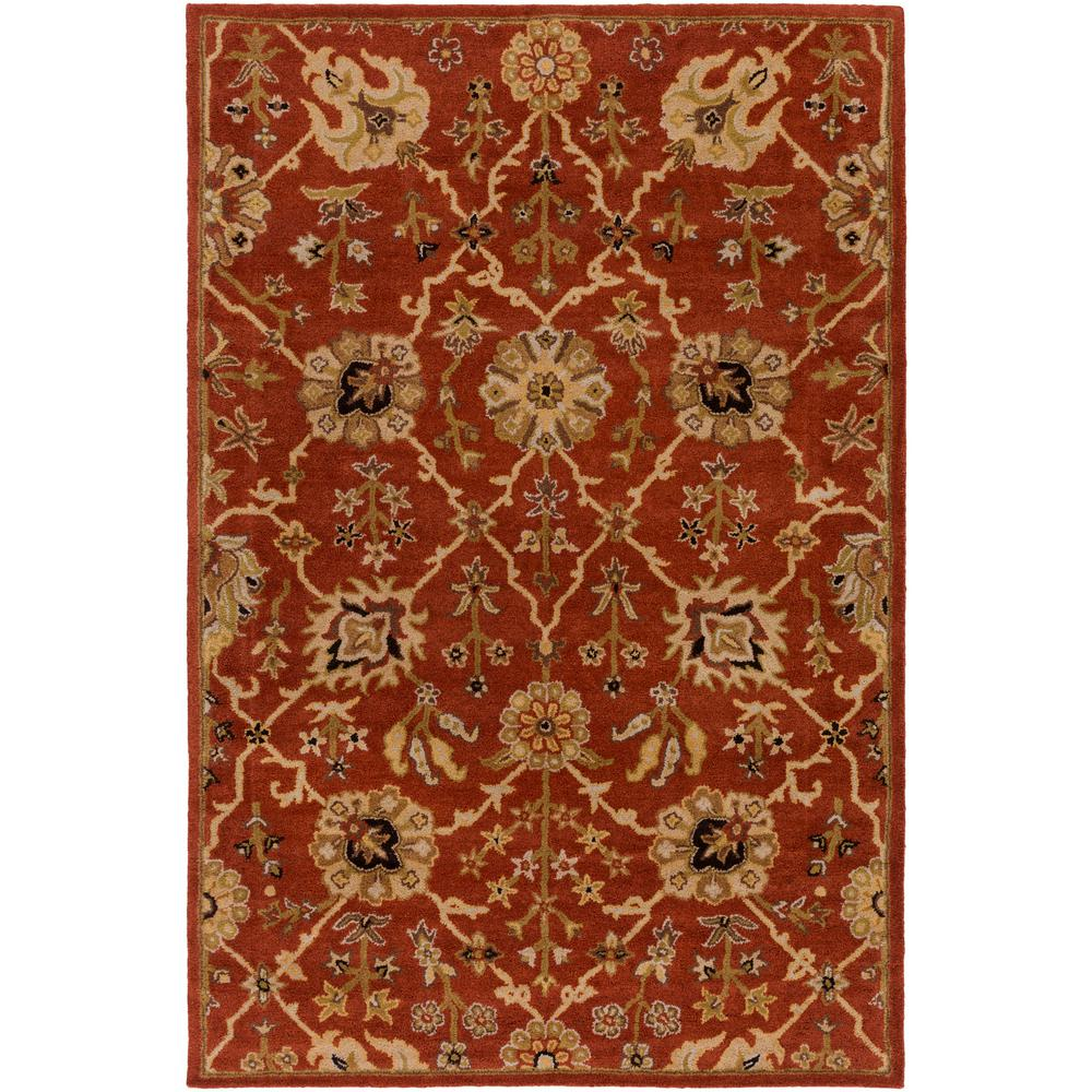 Middleton Allison Rust 4 ft. x 6 ft. Indoor Area Rug