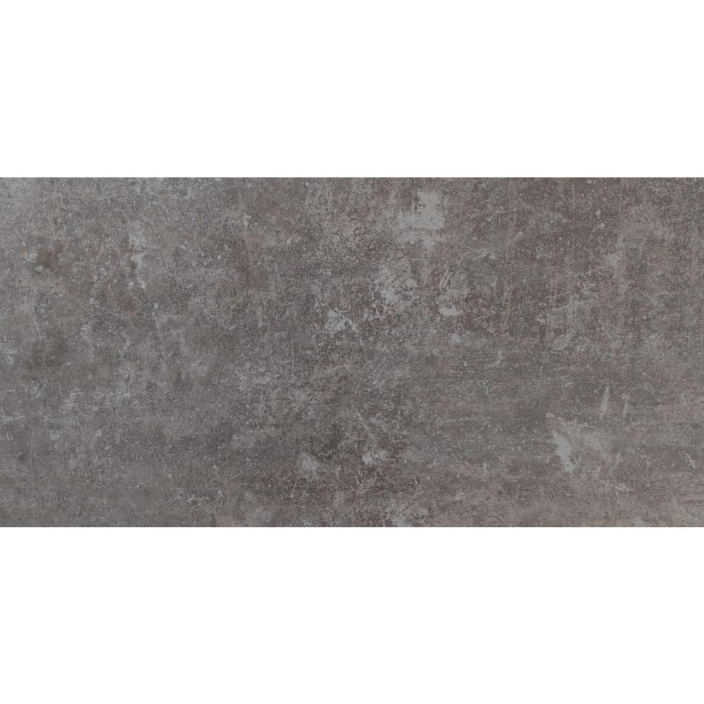 Cemento Treviso 12 in. x 24 in. Glazed Porcelain Floor and
