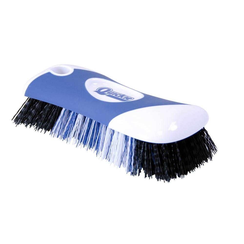Quickie Scrub Brush with Microban-256MB-1 - The Home Depot