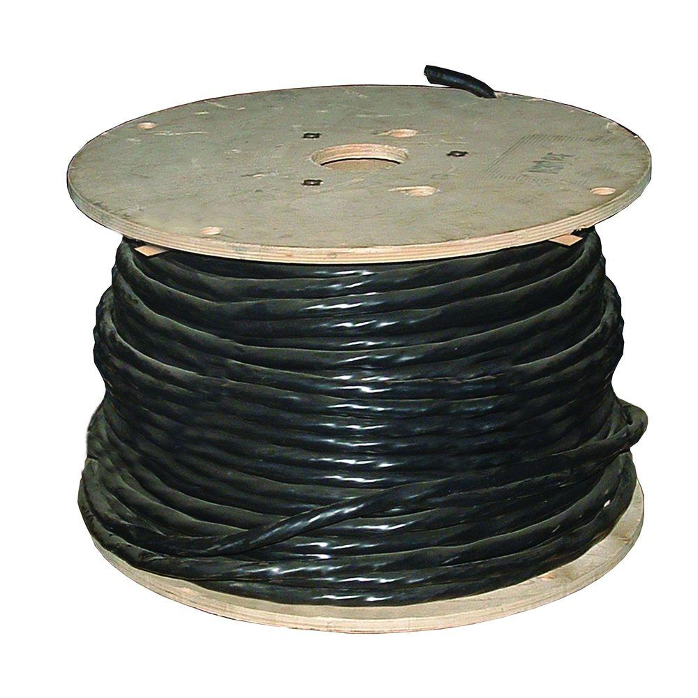 Southwire 500 ft. 6-3 Black Stranded CU Tray Cable-44340801 - The