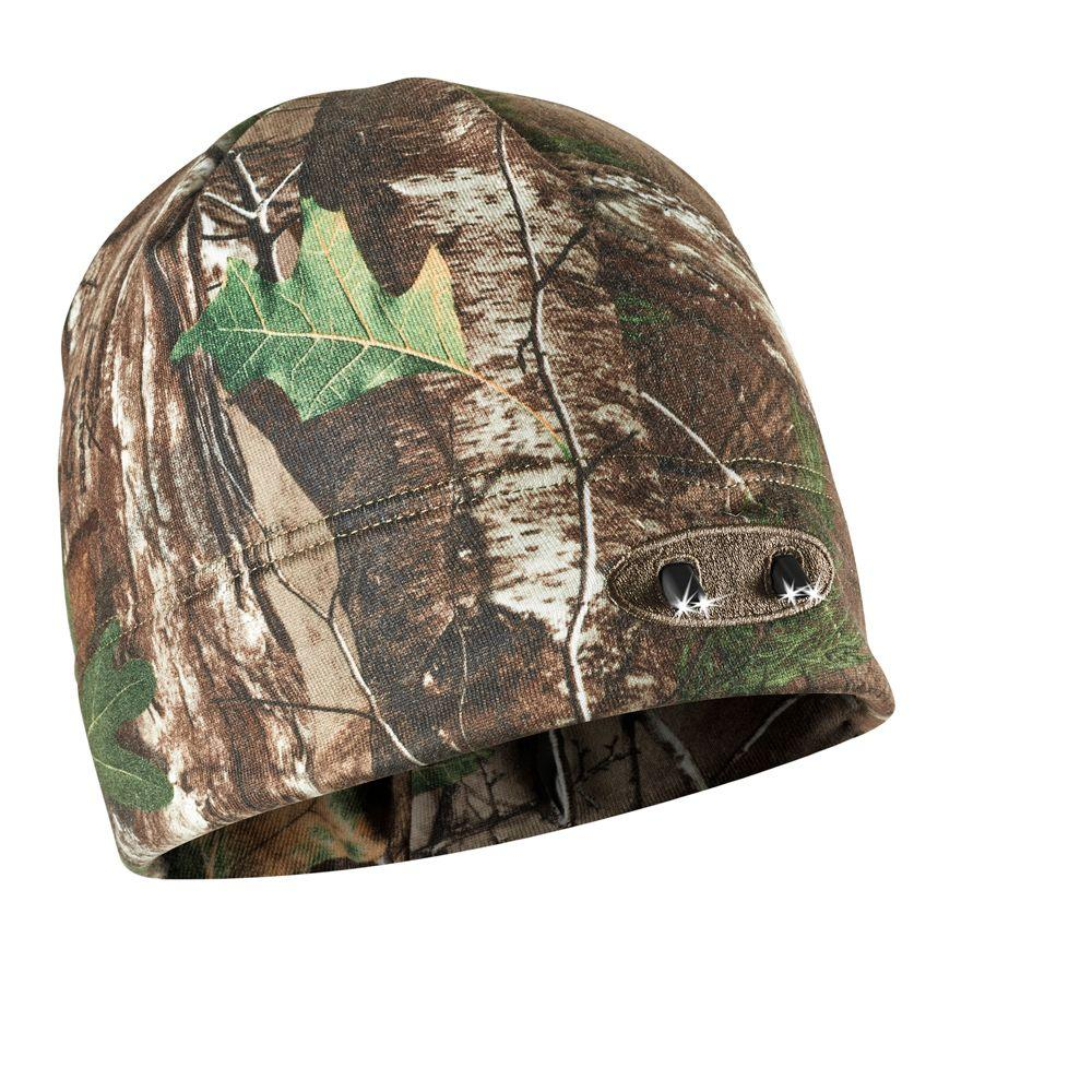 Real Tree Xtra Camo 4 LED Winter Beanie Lighted Hat, Browns/Tans Sale $19.97 SKU: 206313506 ID: CUBWB-4744 UPC: 811465004744 :